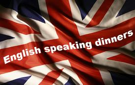 SINGLES CENAS EN INGLES , ENGLISH SPEAKING DINNERS FOR SINGLES